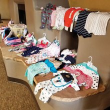 Baby items donated for SaddleBrooke Troop Support