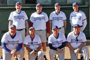 2017 Winter Season Tuesday Competitive League Champion – Allstate Insurance - Bruce Unger, back row: Joe Sanders, Bob Chiarello, Paul Schwin, Steve Laureys; front row: Joe Oczak, Manager Ron Quarantino, Gary Stewart, Steve Overhaug; not pictured: Leonard Gann, Peter Romeo, Bill Spevak