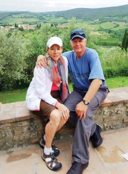 Linda and Mike Oberski