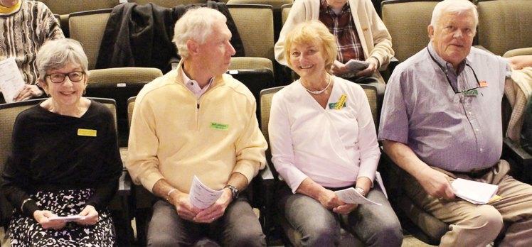 Bonnie and Bob Johnson, Karen and Marc Johnson