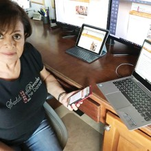 Website manager, Terri Gage