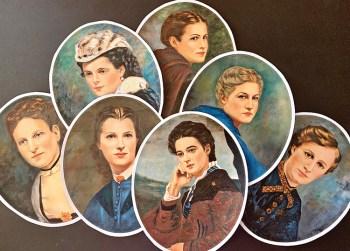 Original Gems of P.E.O., the Seven Founders.