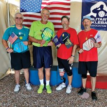Saddlebrook pickleball players win silver at championship.