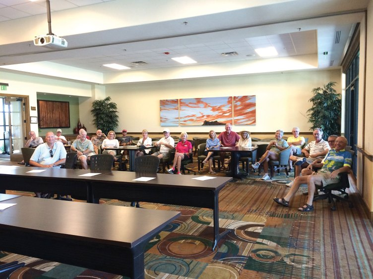 The annual meeting of the SaddleBrooke Ranch Tennis Association