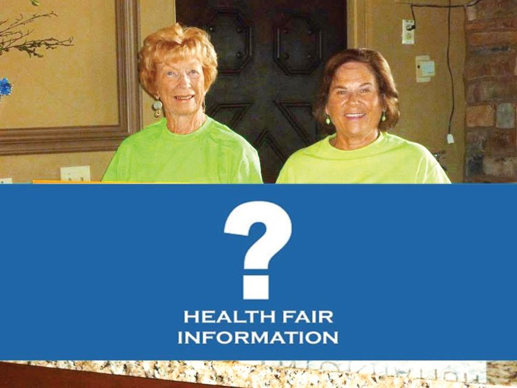 Look for the Information Center at the October Health Fair