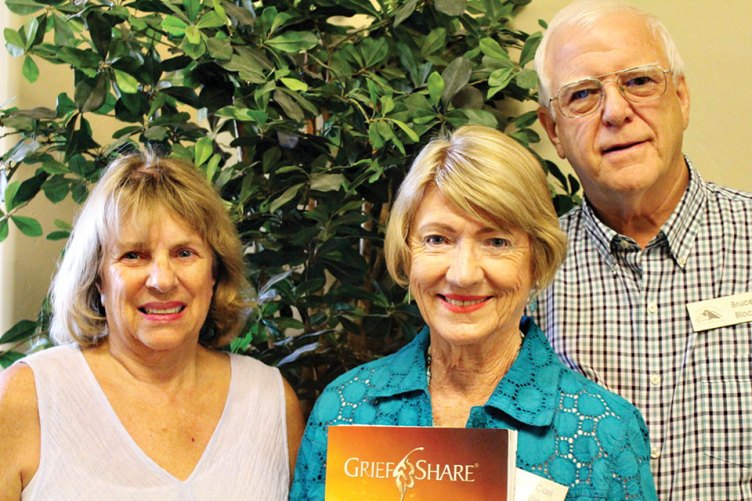 Part of the CCSB GriefShare Team: Susan Rajca, Cari and Bruce Block