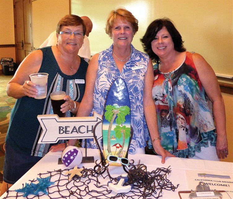 Sue Engebretson, Anne Terrell and Geri Green