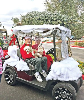 The Gormans, winners of the 2016 parade