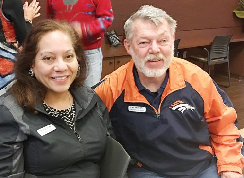 Karla Gomez Meyer and Pat Mulachy