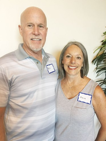 Bill and Joyce Watt