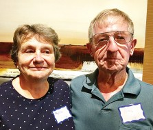 Phyllis and Roger (Bud) Bonvouloir, Unit 16B on Happy Jack Trail (July 19).