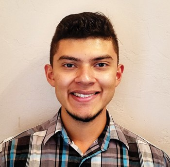 George Rivas is a proud recipient of an SBCO college scholarship.