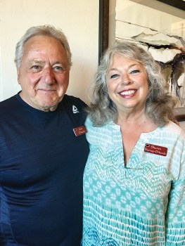 Chris Orlando and Sharon Barney-Orlando