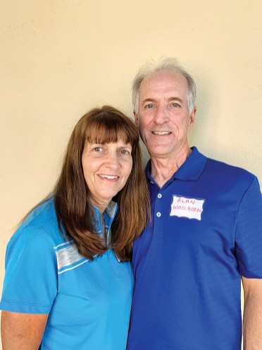 Linda and Alan Wacthorn moved to Unit 8 from Colorado. They love golf and pickleball.
