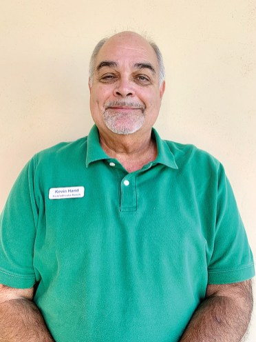 Kevin Hand came to SBR from California. He retired early to Unit 8 in order to enjoy the clean air of Arizona.