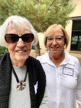 Mary Navoda and Jennifer Valverde moved to Unit 8 from Kansas. Mary enjoys playing Bridge, Mahjongg, and Hand & Foot. Jennifer hikes and plays golf and pickleball.
