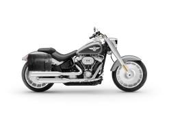 FLSTF Satteltasche f/ür Harley Davidson Fat Boy Arizona Schwarz Links