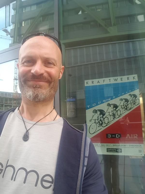 Kraftwerk in concert for TDF