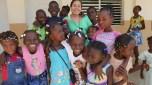 Voluntaria en Haití (R. de Haití)