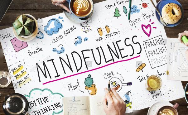 mindfulness-positive thinking, forgive, breathe, relax,smile