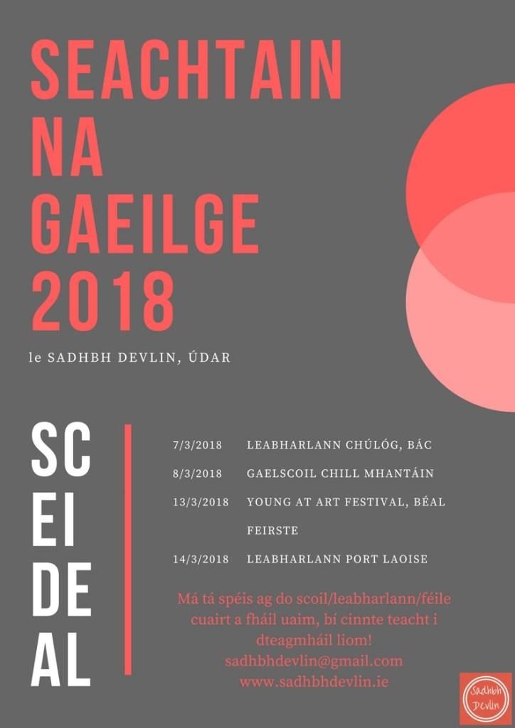 Sceideal Seachtain na Gaeilge Sadhbh Devlin