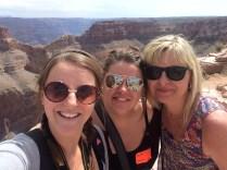 Us three Chillo's at the Grand canyon