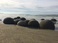 Moeraki Boulders at Boulder Beach