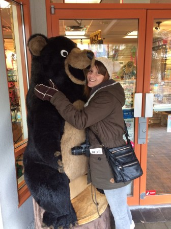 Closest I've got to a real bear..