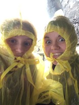 Me and my sister at Journey Beneath The Falls