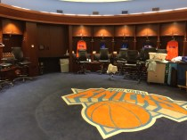 Tour of New York Knicks Locker Room