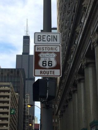My own photo taken on E.Adams Street, Chicago
