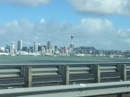View of Auckland skyline