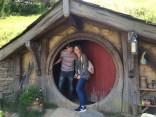 The door to a hobbit house