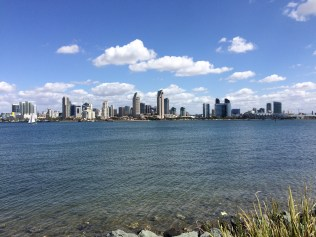 View of San Diego City from Coronado island