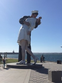Unconditional Surrender Statue- very famous