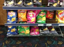 So on the other side of the world Australians have there flavour crisps in different coloured packets to us.