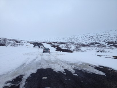 Stuck on Ring Road near Egilsstaðir