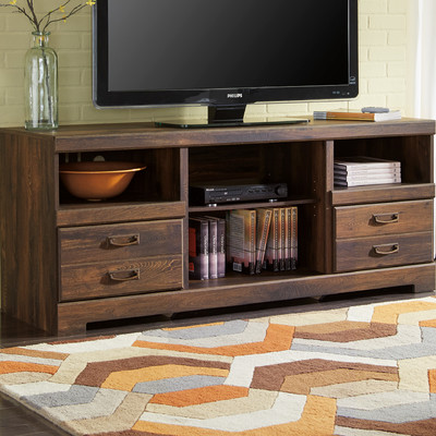 Flattop TV Stand by Loon Peak courtesy of Wayfair.com