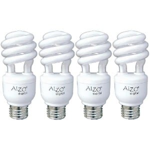 ALZO 15W Joyous Light Full Spectrum CFL Light Bulb Product Image
