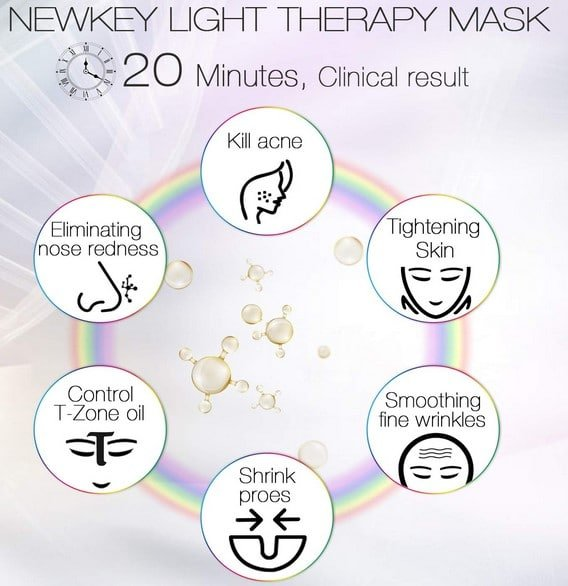 NewKey LED Face Mask
