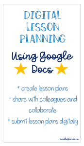 Digital Lesson Plans