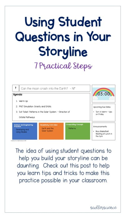 Blog Post Using Student Questions