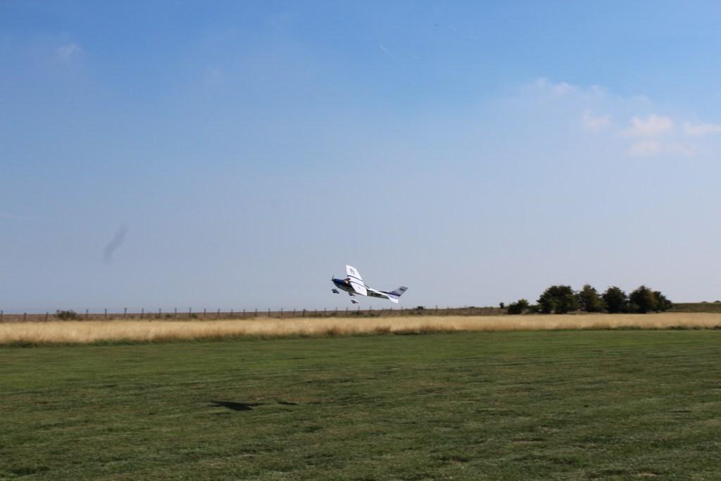 Luke's own Cessna being test flown