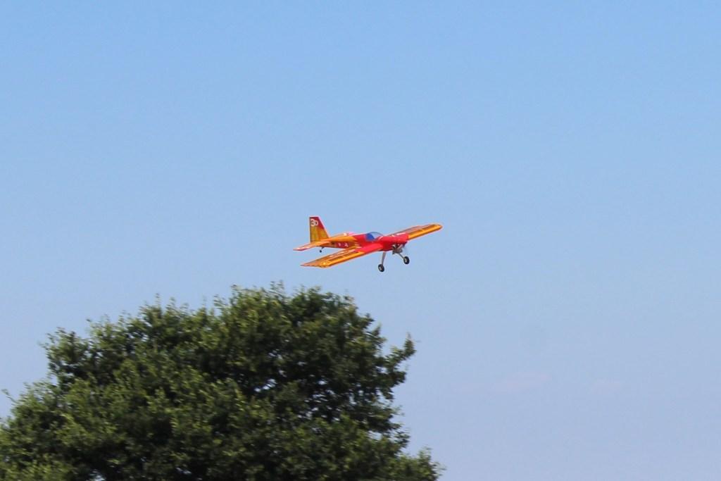 """Brave man flying over """"CRASH CORNER"""""""
