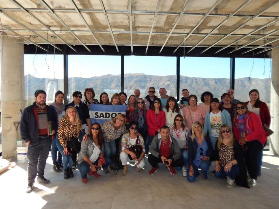 En este momento estás viendo Los Secretarios de Acción Social visitaron el Hotel SADOP Cosquín