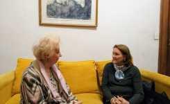 Reunión de SADOP con Estela de Carlotto