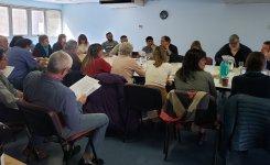 Una nueva reunión de la Intersindical de salud se realizó en SADOP