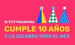 La señal infantil pública lanza una campaña colaborativa: Pakapaka del 1 al 10