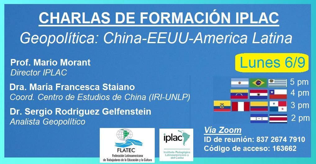 En este momento estás viendo Geopolítica: China, EE.UU. y América Latina