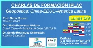 Lee más sobre el artículo Geopolítica: China, EE.UU. y América Latina